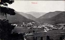 Postcard Tabarz im Thüringer Wald, Totalansicht der Ortschaft