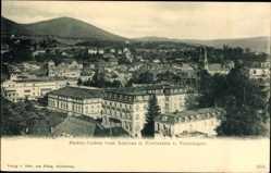 Postcard Baden Baden im Stadtkreis Baden Württemberg, Blick vom Schloss Venningen