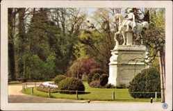 Ak Potsdam in Brandenburg, Sanssouci, Denkmal Friedrich des Großen, RPH 1021
