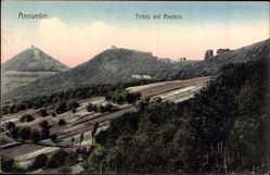 Postcard Annweiler am Trifels im Kreis Südliche Weinstraße, Trifels mit Anebos