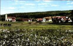 Postcard Windheim Münnerstadt in Unterfranken Bayern, Blick auf den Ort