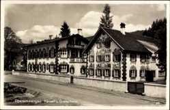 Postcard Oberammergau in Oberbayern, Blick auf das Hänsel und Gretelheim