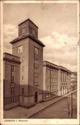 Postcard Königshütte Królewska Huta Chorzów Schlesien, Magistrat