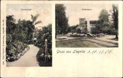 Postcard Legnica Liegnitz Schlesien, Palmenhain, Schießhaus