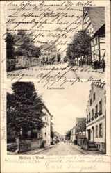 Postcard Rüthen im Kreis Soest Nordrhein Westfalen, Hachtorstraße, Mittlere Straße
