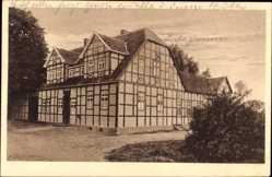 Postcard Ledde Tecklenburg in Nordrhein Westfalen, Gastwirtschaft G. Bockholt