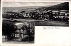 Postcard Zeppenfeld Neunkirchen im Siegerland, Gasthaus zum Hellertal, Th. Andly