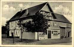 Postcard Tellig im Hunsrück, Blick auf Gasthaus zur Linde, Jakob Lawen