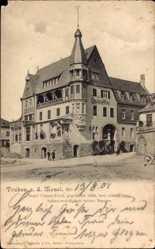 Postcard Traben Trarbach Rheinland Pfalz, Hotel Clauss Feist von 1826