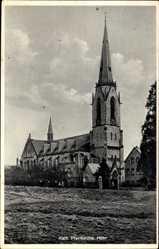 Postcard Höhr Grenzhausen im Westerwaldkreis, Katholische Pfarrkirche