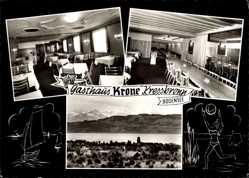 Postcard Kressbronn im Bodenseekreis Baden Württemberg, Gasthaus Krone, Bernhard