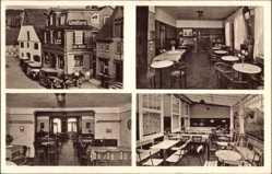 Postcard Hilchenbach Nordrhein Westfalen, Cafe und Konditorei Konrad Müller