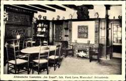 Postcard Brünebrede Warendorf Nordrhein Westfalen, Gasthof Im Engel, Inh. Ferd. Leve