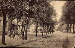 Postcard Blasheim Lübbecke in Ostwestfalen, Partie an der Schule, Kinder