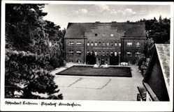 Postcard Seebad Lubmin, Elisabeth Kinderheim mit Vorplatz