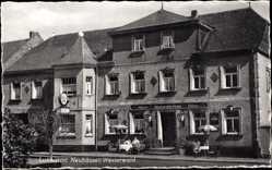 Postcard Neuhäusel Rheinland Pfalz, Gaststätte Pension Fries, Bes. Heinr. Fries