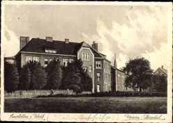 Postcard Emsdetten an der Ems in Westfalen, Blick auf das Marien Hospital