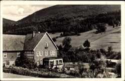 Postcard Elkeringhausen Winterberg im Hochsauerlandkreis, Pension Steinhausen Suren