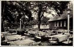 Postcard Berlin Zehlendorf Wannsee, Wirtshaus zur Pfaueninsel, Gustav Prinz
