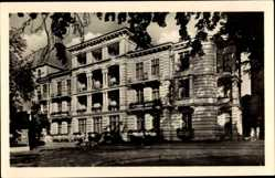 Postcard Ostseebad Heringsdorf auf Usedom, Erholungsheim Freundschaft, Fassade
