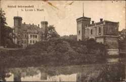 Postcard Lünen in Nordrhein Westfalen, Schloss Schwansbell