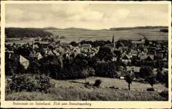 Postcard Neuenrade im Sauerland, Blick vom Berentroperberg auf den Ort