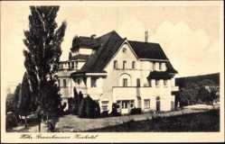 Postcard Höhr Grenzhausen im Westerwaldkreis, Blick auf das Kurhotel, Fassade