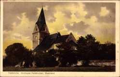 Postcard Kirchspiel Feldkirchen Rheinland, Blick auf die Feldkirche