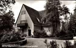 Postcard Herrlingen Blaustein an der Donau, Wohnhaus von Generalfeldmarschall Rommel