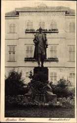 Postcard Gotha im Thüringer Becken, Ansicht vom Bismarckdenkmal