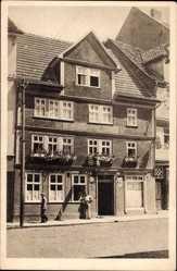 Postcard Eschwege im Werra Meißner Kreis, Gasthaus zur Traube, Bes. Hans Heß