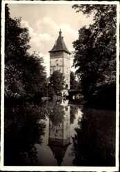 Postcard Waiblingen im Rems Murr Kreis, Beinsteiner Tor mit Rems