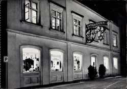 Postcard Bayreuth in Oberfranken, Antiquitäten und Kunsthandlung Karl Gießel