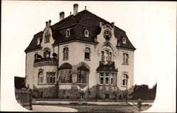 Foto Ak Erfurt in Thüringen, Ansicht der Villa in der Goethestraße 42a