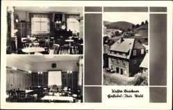 Postcard Gießübel Schleusegrund Thüringer Wald, Kaffee Brückner
