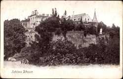 Postcard Hochstetten Dhaun Rheinland Pfalz, Schloss Dhaun