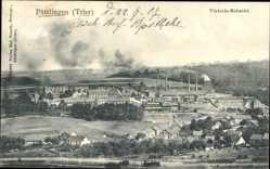 Postcard Püttlingen Saarland, Viktoria Schacht, Kohleabbau