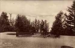 Postcard Bad Kösen Naumburg an der Saale, Blick auf das Bismarckdenkmal
