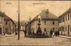 Postcard Eisfeld in Thüringen, Blick auf den Lobensteins Brunnen