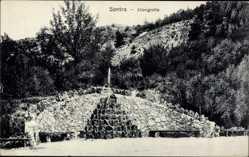 Postcard Sontra im Werra Meißner Kreis, Blick auf die Elfengrotte