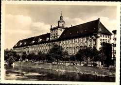 Postcard Wrocław Breslau Schlesien, Ansicht der Universität, Uniwersytet