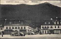 Postcard Brașov Brassó Kronstadt Rumänien, Gyomoles sor, Obstzeile, Carl Dendorfer