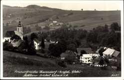 Foto Ak Jodłów Międzylesie Thanndorf Schlesien, Mittlerer Orstteil, Kirche