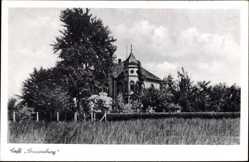 Postcard Rheda Wiedenbrück Kreis Gütersloh, Blick auf Cafe Sonnenburg
