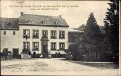 Postcard Gaichel lez ArlonArel Wallonien Luxemburg, Restaurant, Reisdorff Dhuren