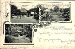 Postcard Blumerode Mansfeld im Harzvorland, Restaurant Schloss Neu Asseburg