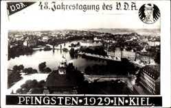 Foto Ak Kiel in Schleswig Holstein, 48. Jahrestagung des VDA 1929