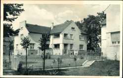 Postcard Wittenberge, Singer Kolonie der Singer Nähmaschinen Werke, Teilansicht