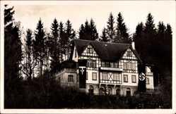 Postcard Bad Waldsee in Oberschwaben Baden Württemberg, NS Führerinnenschule