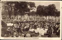 Postcard Hannover in Niedersachsen, Katholikentag 1924, Festgottesdienst